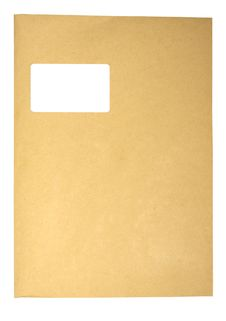 Free Blank Envelope Royalty Free Stock Photos - 3003458