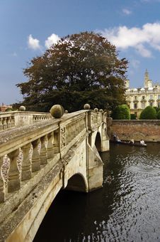 Free Clare Bridge, Over The River C Royalty Free Stock Photography - 3003477