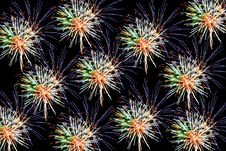 Free Abstract Colored Fireworks Royalty Free Stock Photography - 3004607