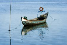 Free Old Fishing Boat Stock Image - 3004791