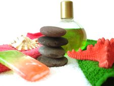 Free Spa Essentials Royalty Free Stock Photos - 3006438