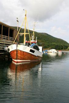 Free Shrimp Trawler Stock Image - 3007741
