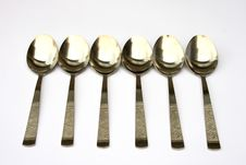 Free Spoons Royalty Free Stock Photography - 3008437