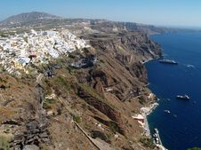 Free Santorini View Stock Images - 3009614