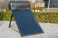 Free Modern Solar Water Heater Stock Photography - 30000592