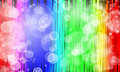 Free Abstract Rainbow Color Background With Bubble. Stock Image - 30002571