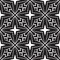 Free Black And White Seamless Pattern Stock Image - 30008861