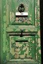 Free Grungy Green Door Stock Image - 30015851