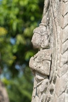 Free Thai Angel Sculpture Stock Images - 30016564