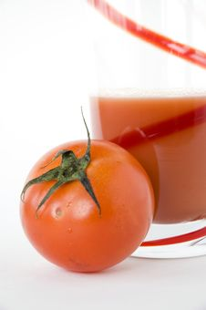 Free Tomato With Juice Stock Image - 30016711