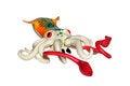 Free Toy Squid Royalty Free Stock Photos - 30021618