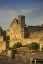 Free Golden Evening At Carcassonne, France Stock Photography - 30021992