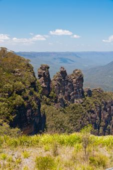 Free Three Sisters, Blue Mountains, Australia Stock Photos - 30024703