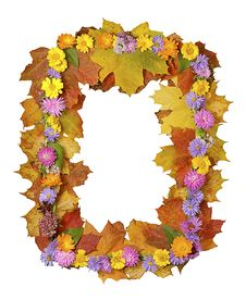 Free Autumn Frame Royalty Free Stock Photo - 30025605