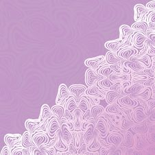 Violet Abstract Pattern Stock Photo