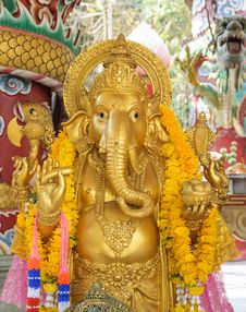 Ganesh Statue Stock Photos