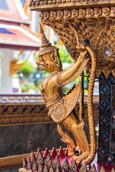 Garuda And Nagas Stock Photos