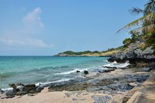 Free Si Chang Island, Beach And Tropical Sea With Sky Stock Photos - 30031593