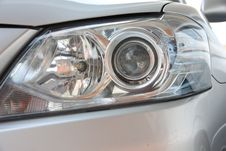The Front Light Vehicles. Stock Photography