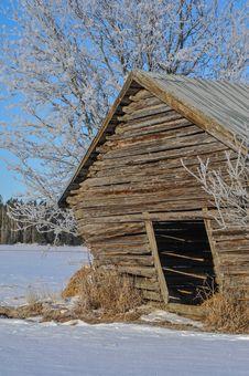 Vintage Barn Royalty Free Stock Photo