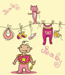 Free Baby Things Royalty Free Stock Photo - 30034615