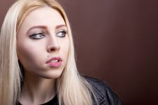 Free Portrait Of A Beautiful Caucasian Girl Royalty Free Stock Image - 30036066