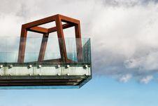 Free Bridge Into The Sky. Architecture Concept Stock Photos - 30038953