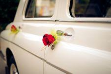 Wedding Car Royalty Free Stock Photo