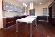 Free Clean Modern Kitchen Stock Photo - 30039720