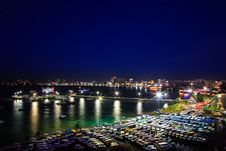 Free Pattaya City Harbor Royalty Free Stock Image - 30041206