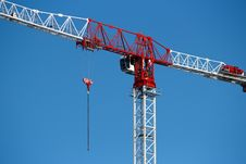 Free Tower Crane Closeup Royalty Free Stock Photos - 30041438