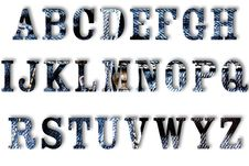 Free Letter Of Jeans Alphabet Royalty Free Stock Image - 30043376