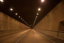 Free Driving Through Tunnel Stock Photography - 30052942