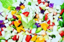 Free Green Vagetables Mix Salad Indian Stock Photography - 30053122