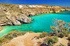 Free Milos Island Beaches. Greece Series Royalty Free Stock Image - 30054306