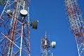 Free Telecommunication Tower Stock Image - 30063211