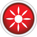 Free Round Sign With A Picture Of The Sun Stock Images - 30066904