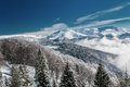 Free Winter Mountain Scenery And Snow Covered Peaks In Europe Stock Photo - 30066970