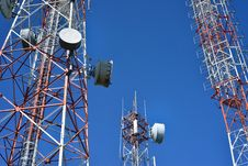 Free Telecommunication Tower Stock Image - 30063211
