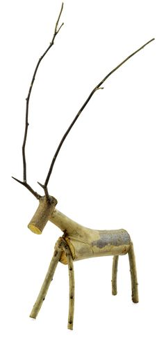 Free Wooden Deer Doll Stock Image - 30064071