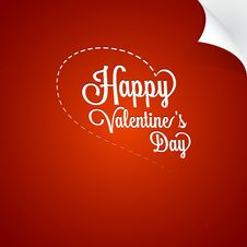 Free Valentines Day Vintage Greating Card Stock Images - 30064964