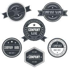 Vintage Badges Royalty Free Stock Image