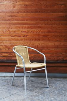 Free Aluminum Chair Stock Image - 30069011