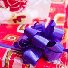 Free Gift Paper Box Royalty Free Stock Image - 30069016