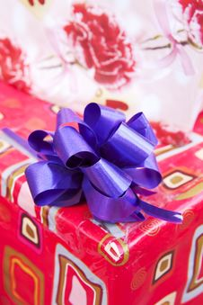 Free Gift Paper Box Stock Image - 30069101