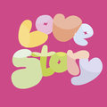 Free Love Story Banner Royalty Free Stock Images - 30072879