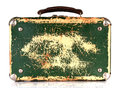 Free Old Green Shabby Suitcase Stock Images - 30077294