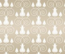 Free Seamless Floral Pattern Royalty Free Stock Photography - 30071547