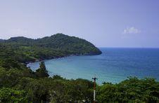Ko Si Chang Island In Thailand Royalty Free Stock Photo
