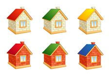Free Brick Houses Stock Photos - 30073013
